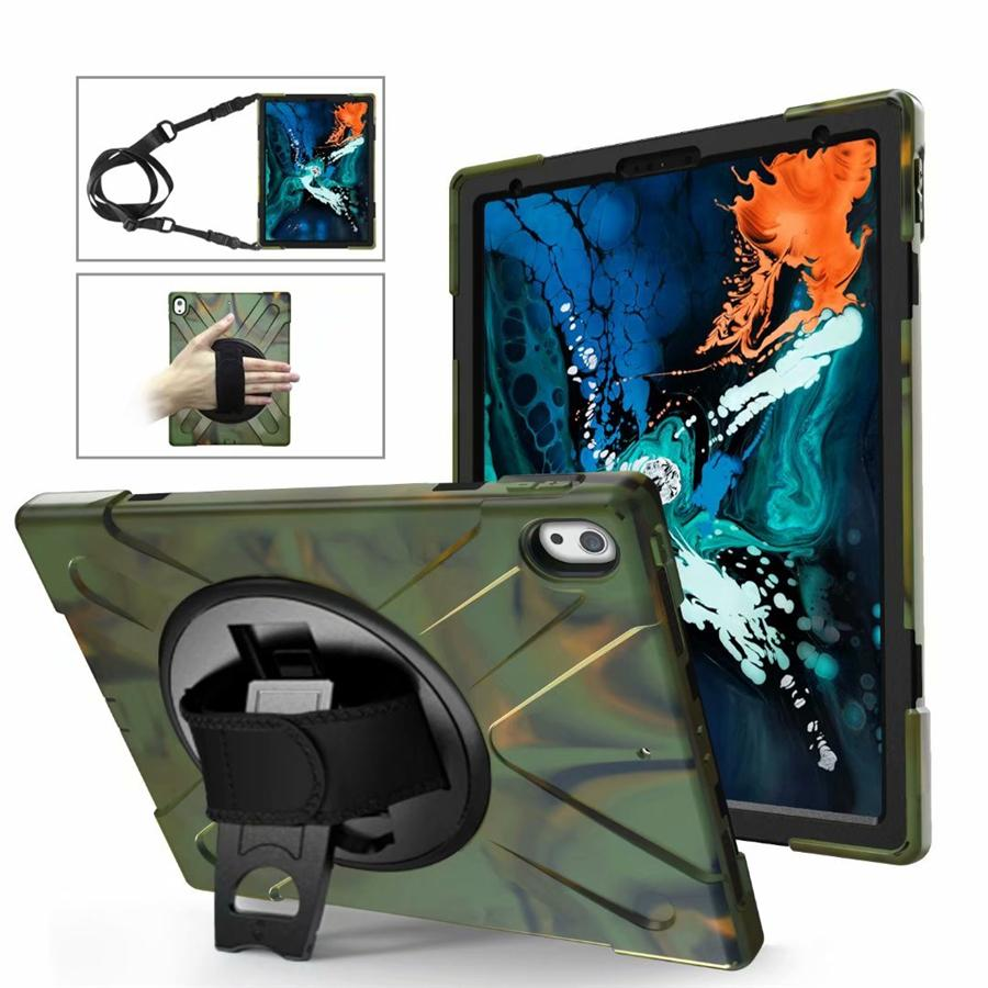 3in1 antiurto Holder spalla Caso Tablet cinghia per iPad Air 10.2 10.5 12.9 Samsung T290 Surface Pro 4 HUAWEI M5