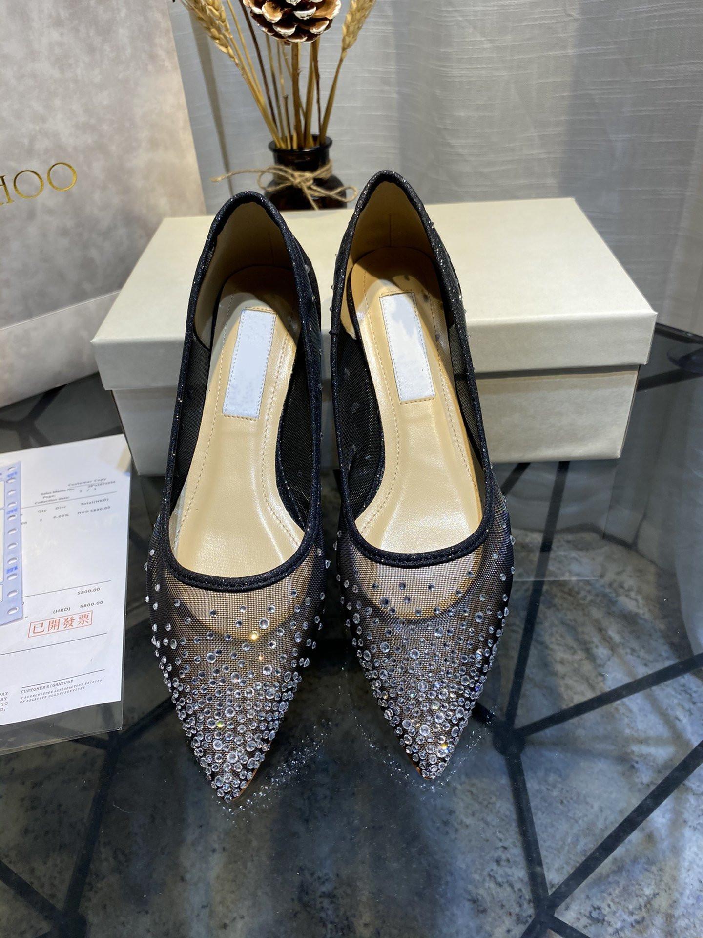 Bahar ve Yaz 2020 Yeni Stil Yüksek uç Kalite Mizaç Lady Koyun postu Flaş Matkap Topuklar Tek Ayakkabı Sandalet 105563