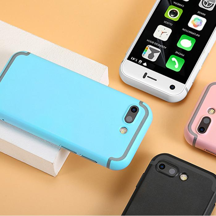 Unlocked 7S Android celular smartphone Mini 32GB 5.0MP HD Camera Dual SIM Quad Core telefono movil Small 3G Touchscreen Smart cell phone