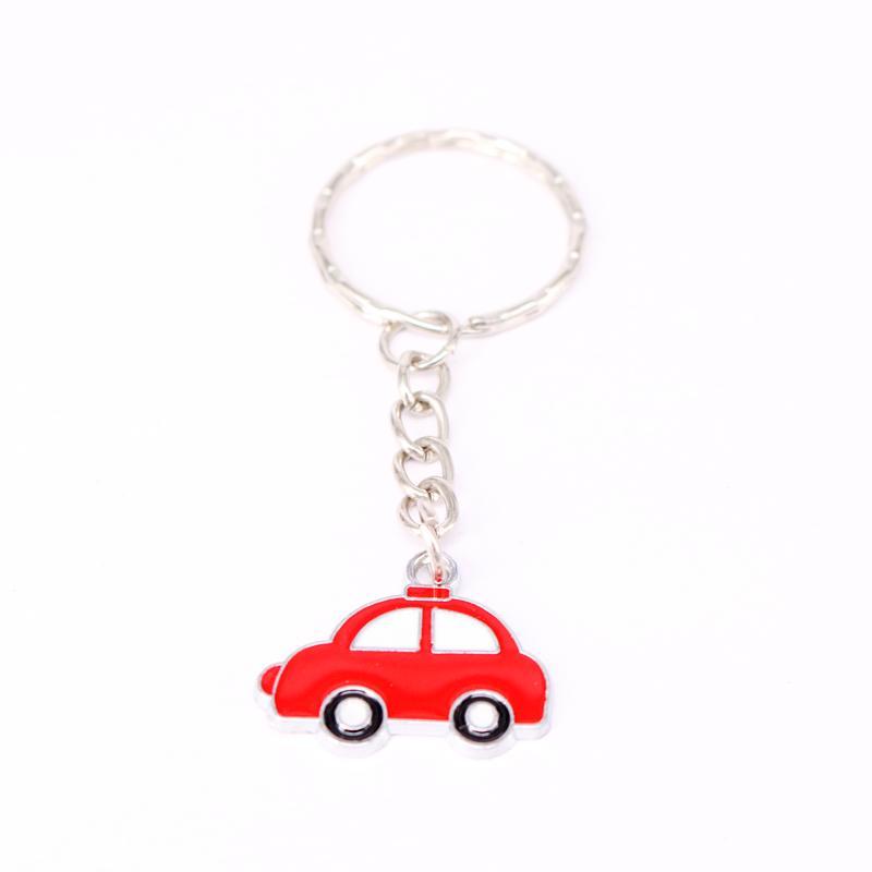 100Pcs Car Charms Keychain For Keys Car Key Ring Souvenir Gifts Couple Handbag Jewelry Accessories KC34