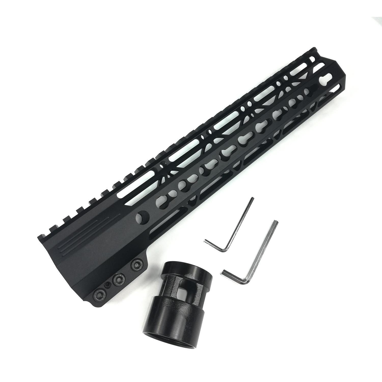 Design montato su morsetto di alta qualità da 11 pollici Freet Float KeyMod Protezione superiore