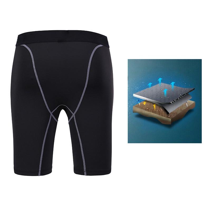 Compression Homme Short Run Collants Gym Quick Dry Hommes Fitness Sport Leggings Course à Pied Shorts Homme Sous-vêtements Sport Shorts3