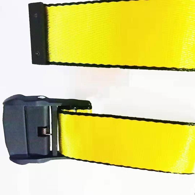 Cinture cintura industriale Lettere Canvas Belt 200 centimetri uomini della tela Street Style cinghia della vita delle donne degli uomini punk ricamo