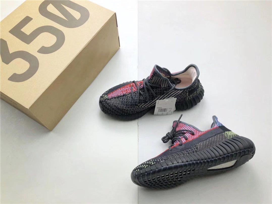 2020 nouveaux originaux authentiques 350s V2 Yecheil réfléchissant non réfléchissant Fw5191 Fw5190 Kanye West Fx4145 Fw5191 Fw5190 Hommes Chaussures Casual Taille