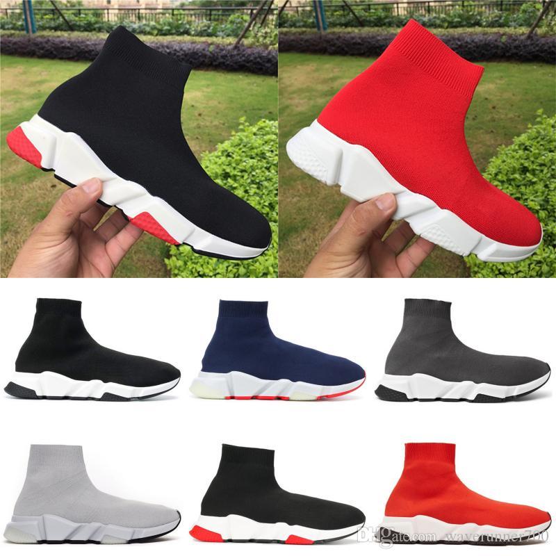 أحذية المصمم سرعة المدرب نساء الحزب الرجال منصة بنات اللباس حذاء أسود أبيض أحمر أزرق العليا منتصف رجل مدرب حذاء رياضة