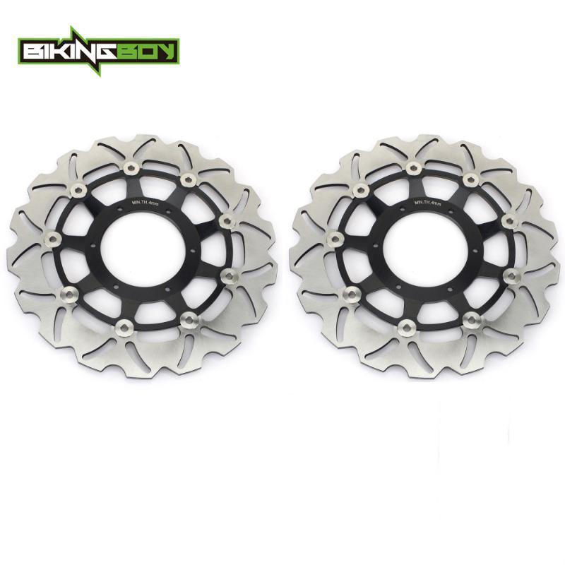 BIKINGBOY freno anteriore dischi rotori dischi CB 1000 R 08-20 CB1000R ABS 09-16 CB 1300 F F3 SF SUPERFOUR 03-06 03-08 1284 CB1300S