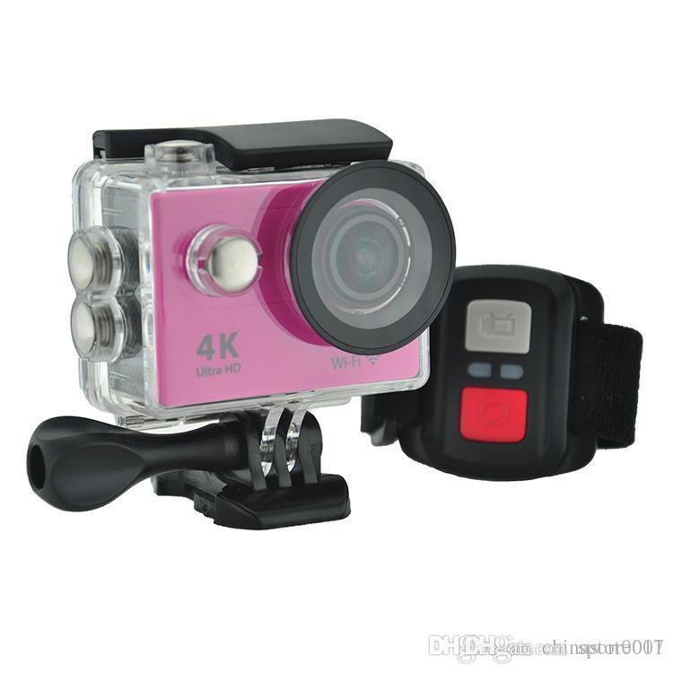 H9R Tätigkeits-Kamera 4K Ultra HD Wifi Qualitäts-neueste Strand Wasserdichte Sport Cam Mini-DV-Kameras Fernbedienung VS EKEN 7 Farben