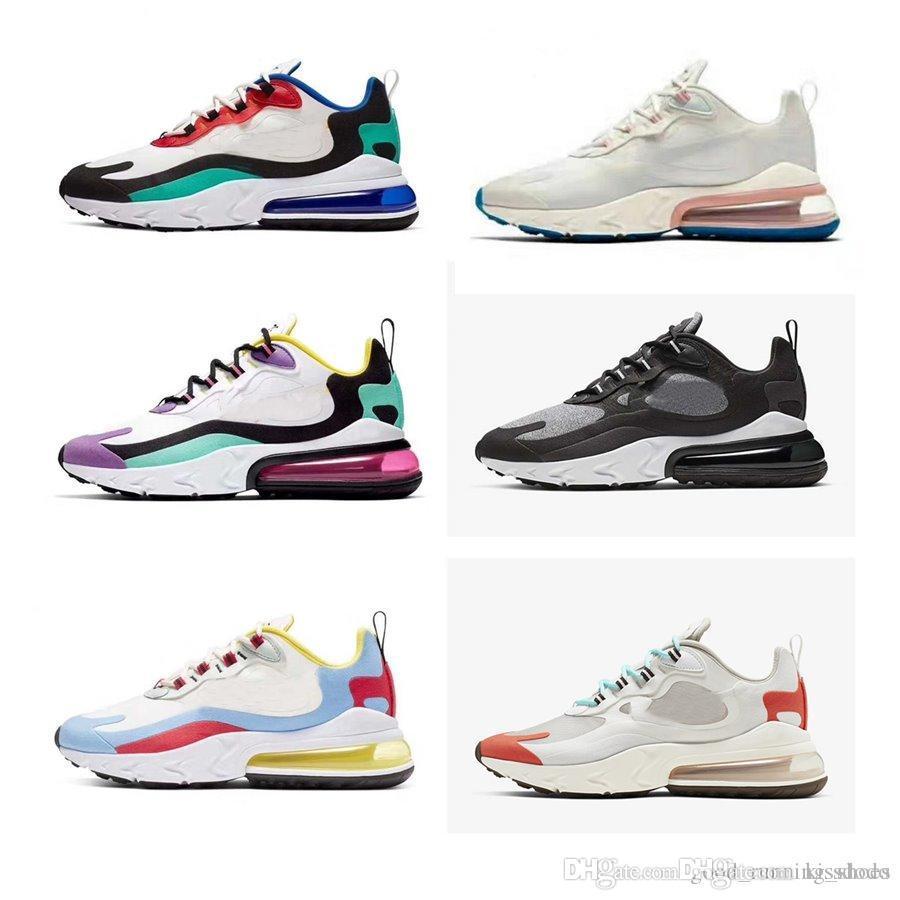 2019 Shoes Preto Branco Triplo Almofada das mulheres dos homens das sapatilhas Moda Atletismo Formadores executando sapatos tamanho 36-45