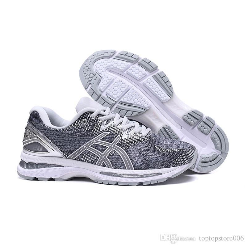Compre ASICS 2019 GEL Nimbus 20 Cushioning Zapatillas De Running Para Hombre Balck Gris Verde Zapatillas De Deporte De La Mejor Calidad Del Diseñador