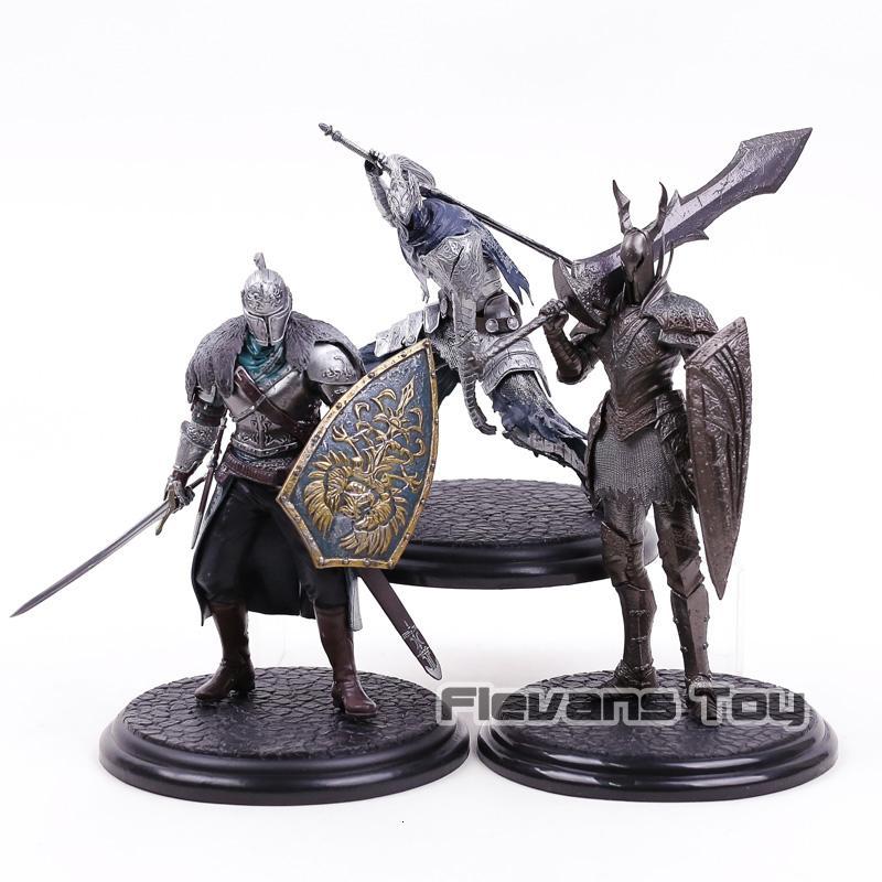 Hot Game Dark Souls Black Knight / Faraam Knight / Artorias The Abysswalker PVC Statue Figure Collectible Model Toy SH190910