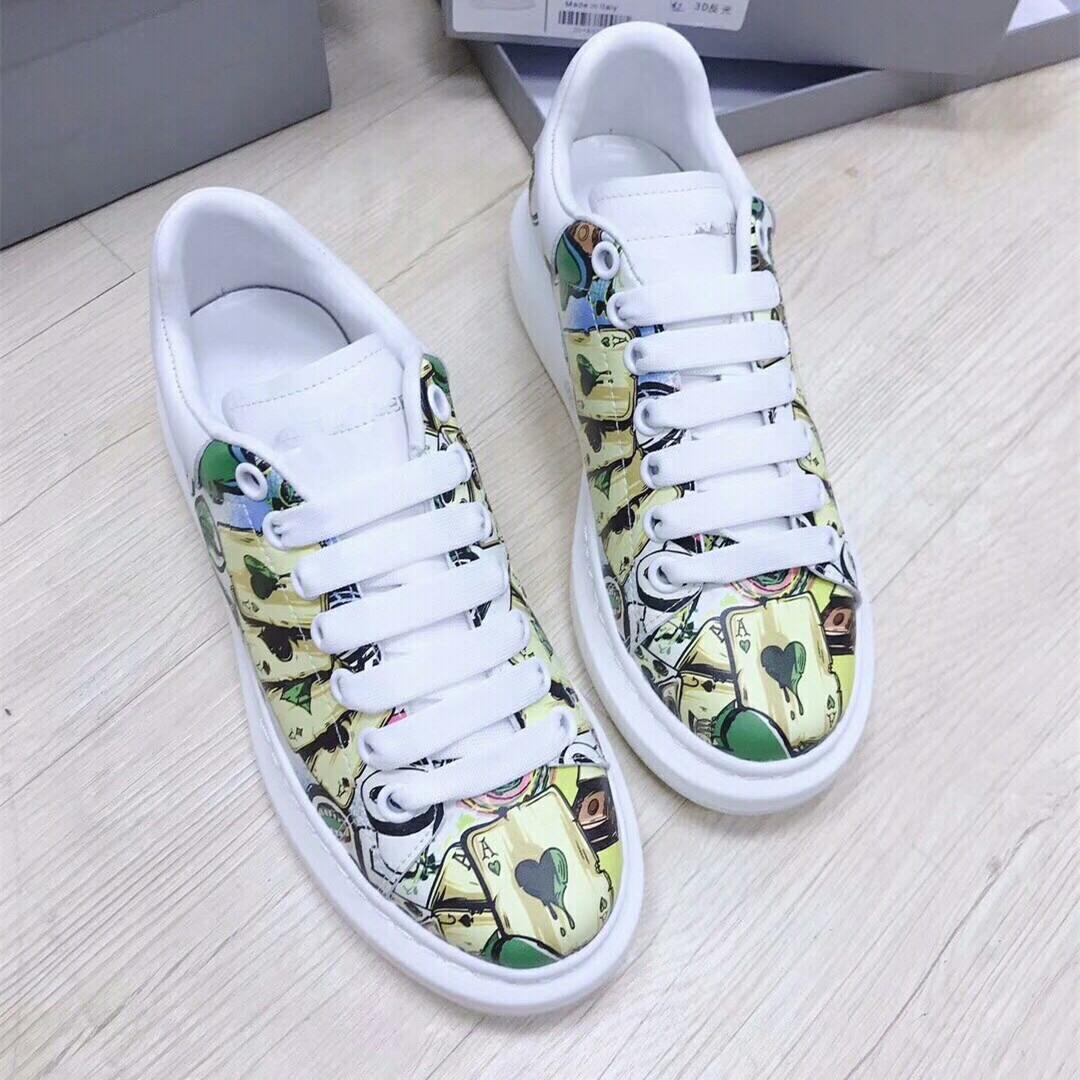 2020 Moda aumento Shoes Designer Shoes altura Mulheres Homens Sapatilhas Sapatos casuais Cores sólidas Men Womens Sneakers Sapato 4-11