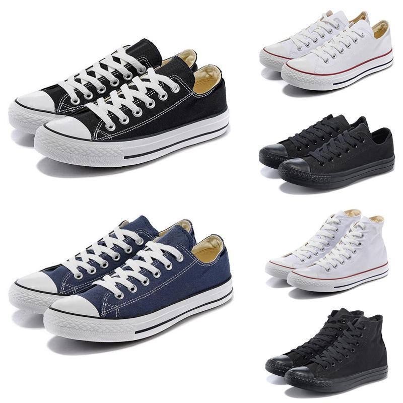1970 Claissic chaussures Chuck toile bas chaussures casual top haut tous les hommes bleu rouge blanc noir chaussures femmes formateurs taille 36-44