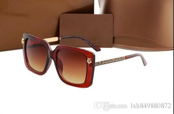 Im Jahr 2018 Sonnenbrille der Originalverpackung High-End-Marken-Design Box, männliches und weibliches UV-Schutz Sonnenbrillen, Box.