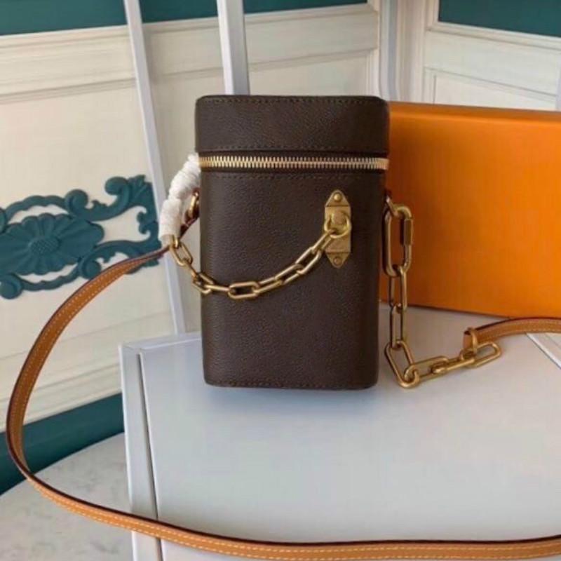 frizione borsa nuova all'ingrosso per le donne mini phone box Satché borsa catena in pelle Box signora borse del corpo della traversa del messaggero Shoulder Bag