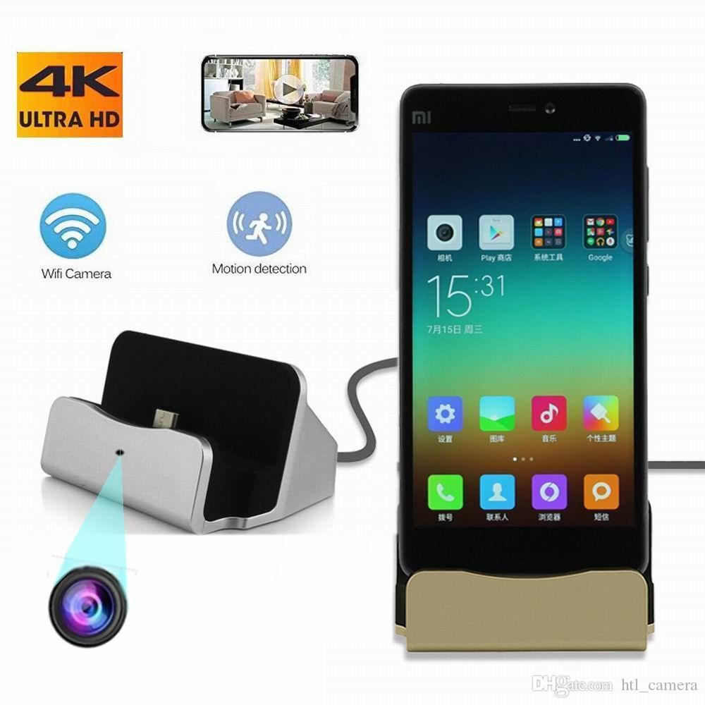 LB01 USB Şarj 1080 P Yüksek Çözünürlüklü Wifi Kablosuz Mini Kamera Android IOS Şarj Portu Dijital Video Kamera Ev Ofis Güvenlik DV Hareket Algılama Cam