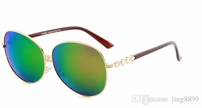 2019 gafas de sol de diseñador Hombres Mujeres gafas de sol polarizadas de lujo gafas de sol gafas de diseñador dama Gafas de sol de moda gafas de FD0039 Gafas