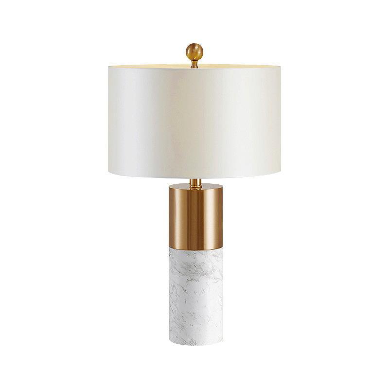 Lampe de table Art lit moderne chambre créatif minimaliste lampe de table en marbre décoration de l'hôtel