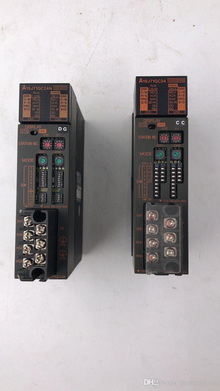 1 PCS Mitsubishi Original PLC A1SJ71QC24 NOVO GRÁTIS EXPEDIDO O ENVIO