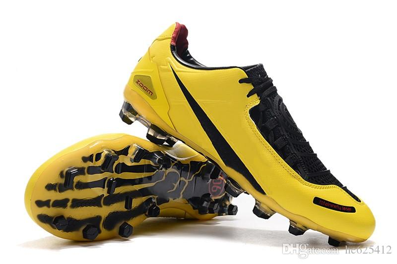 Grosshandel Nike T90 Laser Kinder Fussballschuhe Fg Chuteiras De Futebol Kinder Jugend Fussball T90 Stollen Junior Designer Sportschuhe Niedrig Oben Von