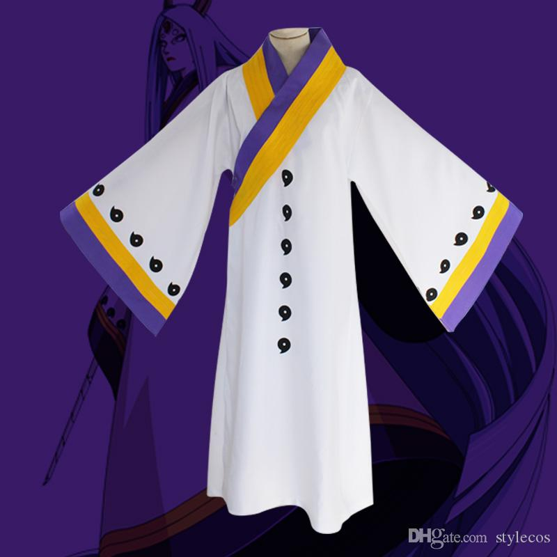 Naruto Cosplay Big wooden barrel glow night COS clothing Ten-tailed Chakra mother COS clothing Anime cloak