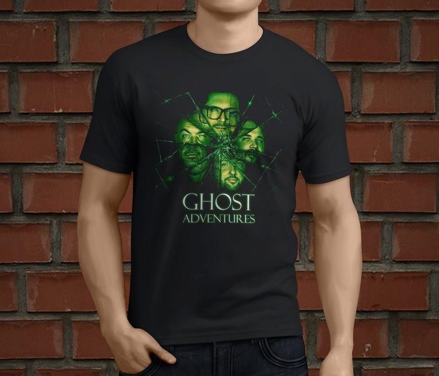 Ghost Adventures Character Custom T-Shirt T Shirt Men/'s