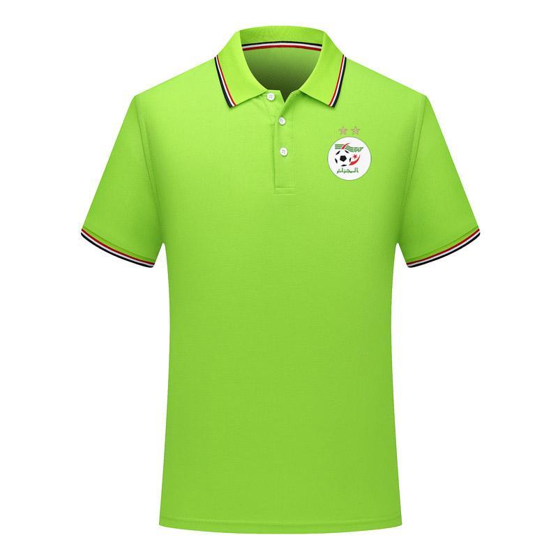 2020 cezayir milli takım İki Polo gömlek futbol formaları Futbol Polos 2020 cezayir milli takım Kısa Kollu polos Fanlar Tops yıldız