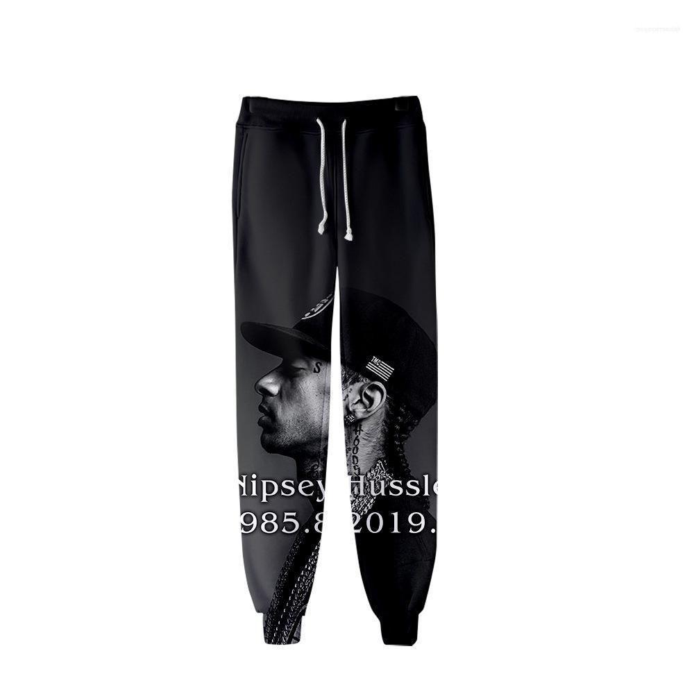 R.I.P Pencil Pants Printed Designer Mens 3D nipsey hussle Jogger Pants Spring Teenager School Sports Casual