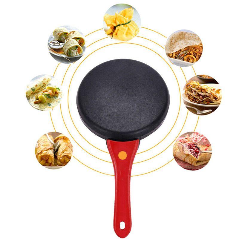 Hot Electric блинница Выпечка кекса Пицца Блины машина Non-Stick Мясная Прочный машина Бытовая Кухня Кулинария Инструменты