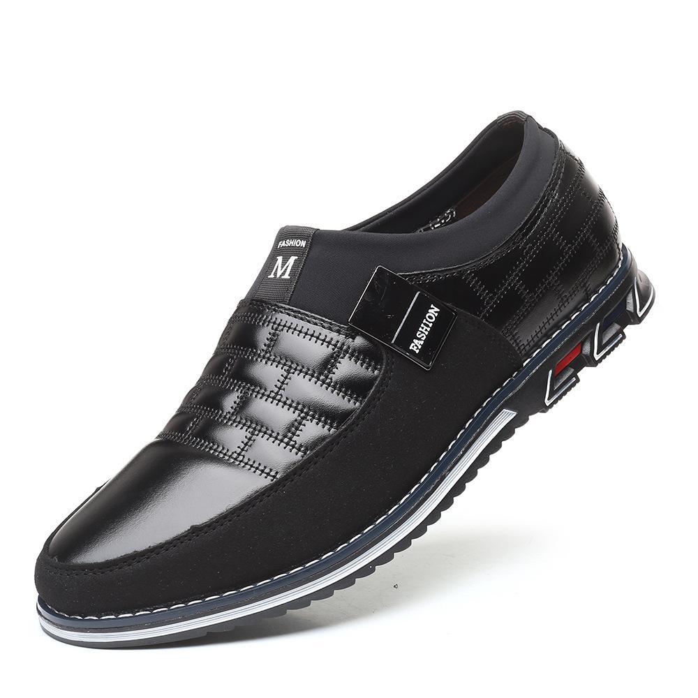 Новая осень круглая голова мужская повседневная обувь одного одна нога большие мужские ботинки