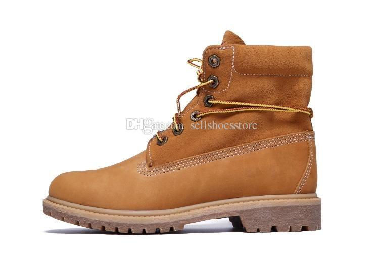70cbdc6e5a Compre Marca De Lujo Para Hombre Para Mujer Madera Trigo Alpinismo Zapatos  Top Roll Botas De Senderismo De Calidad Barata Con Tronco De Árbol Grande  En ...