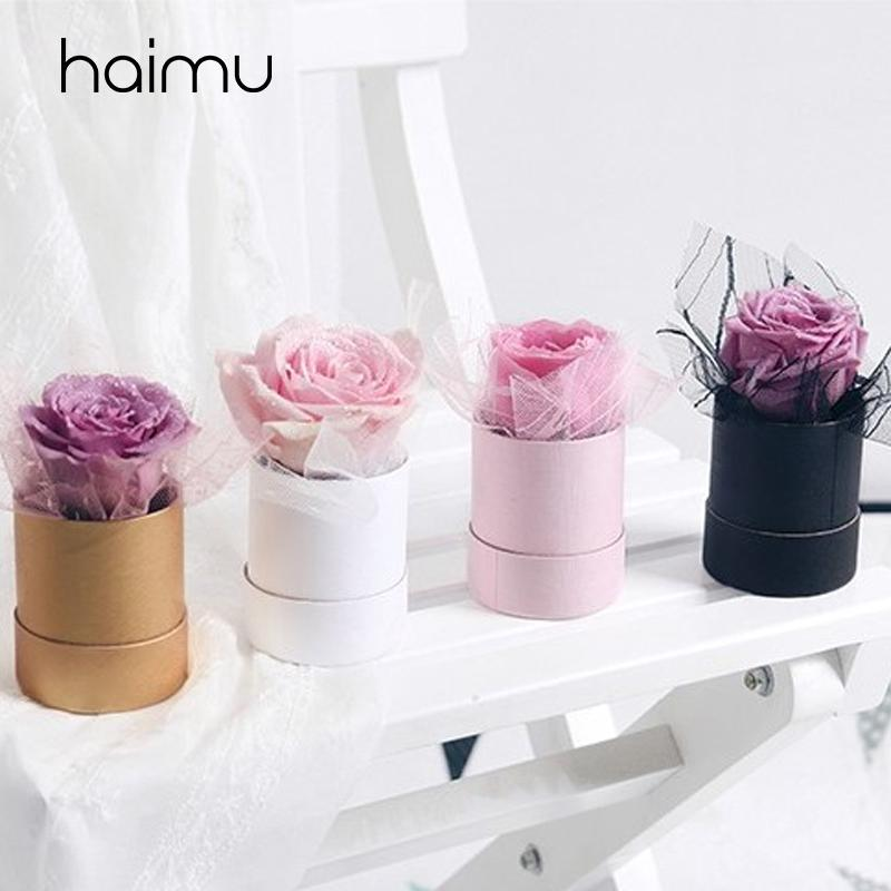 6 Mini Solid Round Box Bag Packaging Flower Bouquet Box Wedding Favor Decoration For Packing Florist Gifts Boxes Printed Wrapping Paper Printing Wrapping Paper From Aozhouqie 30 90 Dhgate Com