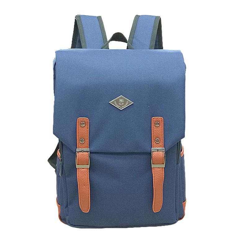 Polyester Oxford cloth College School Bag Fits 16.2'' Laptop Casual Rucksack Waterproof School Backpack Daypacks Red black big capactiy