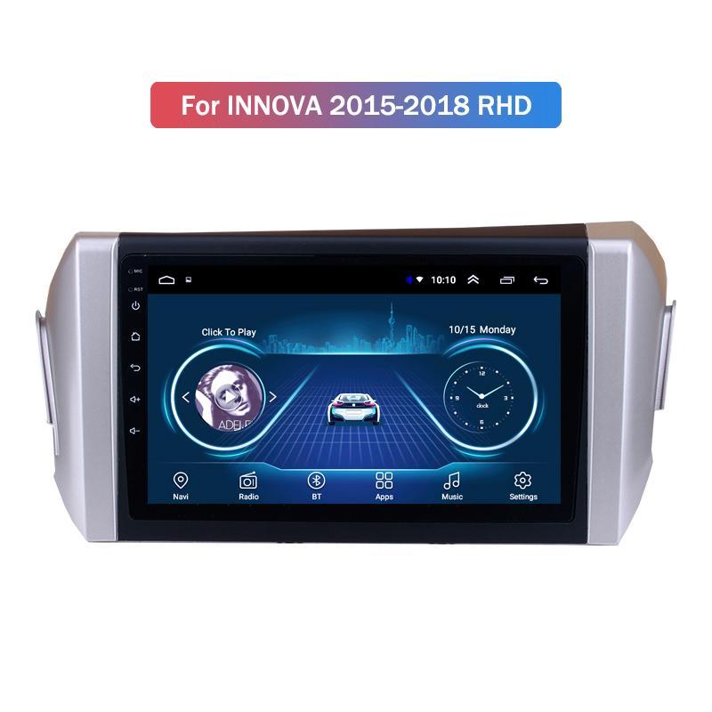 Android 10 per Toyotal INNOVA 2015-2018 LHD Multimedia Stereo di lettore DVD dell'automobile di navigazione GPS Radio
