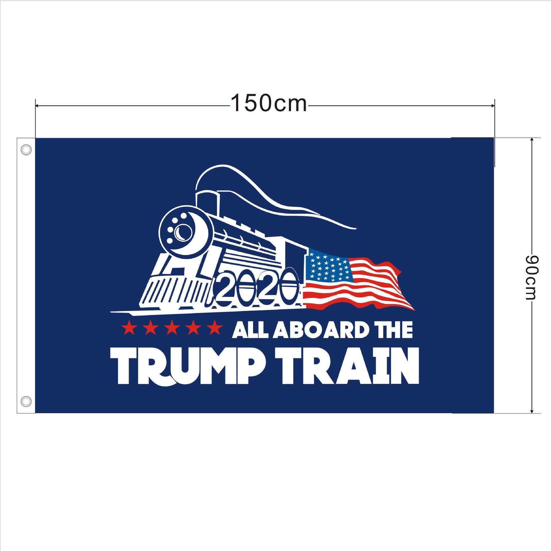 Trump 2020 Bayrak Baskı Başkanı ABD Amerikan Seçim No More Bullshirt Donald Bayrak 90x150cm CNY2063 için Amerika Büyük Banner Decor tutun