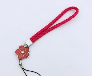 mobile phone lanyard phone lanyard wrist ornaments plum rope badge badge Keychain mobile phone rope