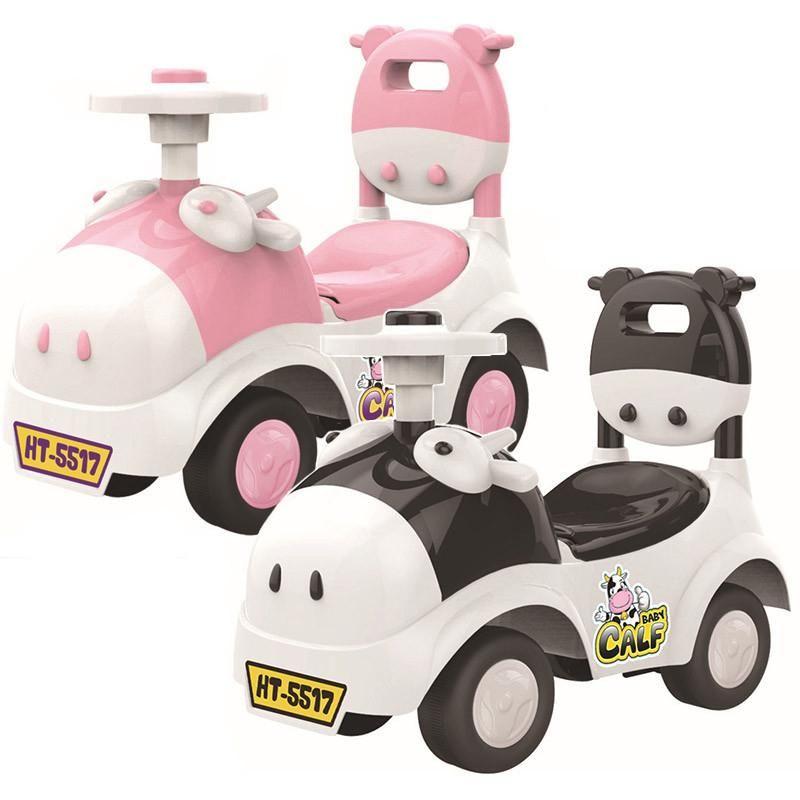 Shining bebé bebé Walker coche de juguete de paseo en el coche 1-3 años Niños Scooter Equilibrio tren bici del bebé Walker 4 Ruedas