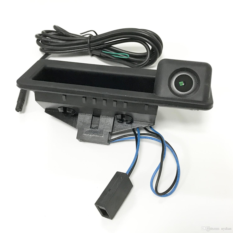 Автомобильная ручка ручки камеры заднего вида HD для старых BMW 3 5 x3 x5 серии