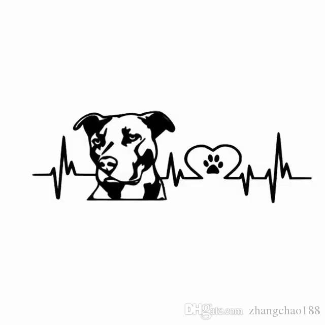 Waterproof Car Sticker  Decals Pit bull Car styling  Car Accessories Reflective