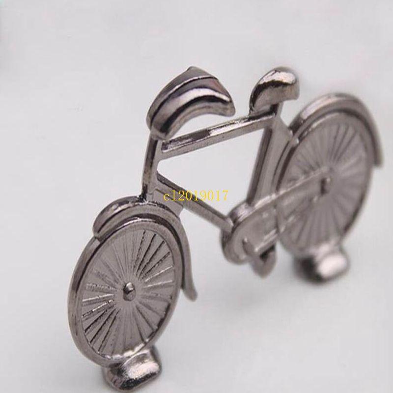 500 pcs Criativo Bicicleta Do Vintage Bicicleta Lugar do Cartão de Mesa Nome Nome Número Festa de Casamento Memo Clipe Restaurantes Decoração