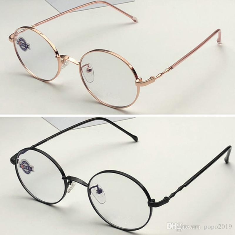 chloa الجاموس القرن النظارات الشمسية مربع النظارات للنساء الرجال جولة إطار معدني فاخر مصمم النظارات البصرية مع مربع أعلى الأصلي