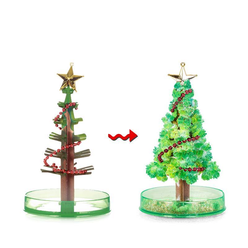 Kağıt Ağacı Çiçeği Yılbaşı Ağacı Yaratıcı Dekompresyon Hediye Bilim Yenilik Oyuncak Arkadaş Çocuklar Noel Doğum Hediye ucuz komik