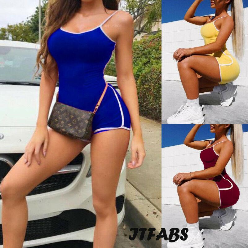 Maillot De Bain Pour Femmes Combinaison Culotte Casual Pantalon Justaucorps Clubwear Party Bikin