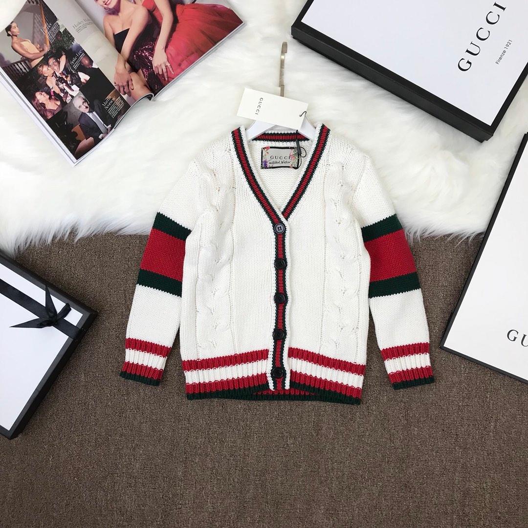 Vendita calda 2020 di marca di modo bambini maglione vestiti primavera / autunno / inverno di alta qualità di scuola delle ragazze del ragazzo bambini Capispalla Maglioni 011.102