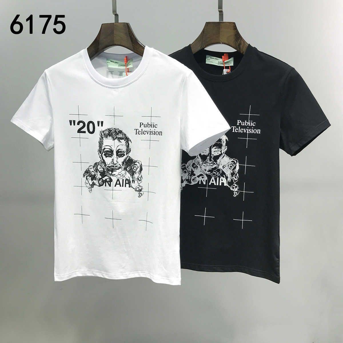 En Yeni Moda Tasarımı Erkekler Ve Kadınlar Tişörtlü Saf Pamuk Ve Kısa Kollu T Shirt Size M-3XL 20ss Pop
