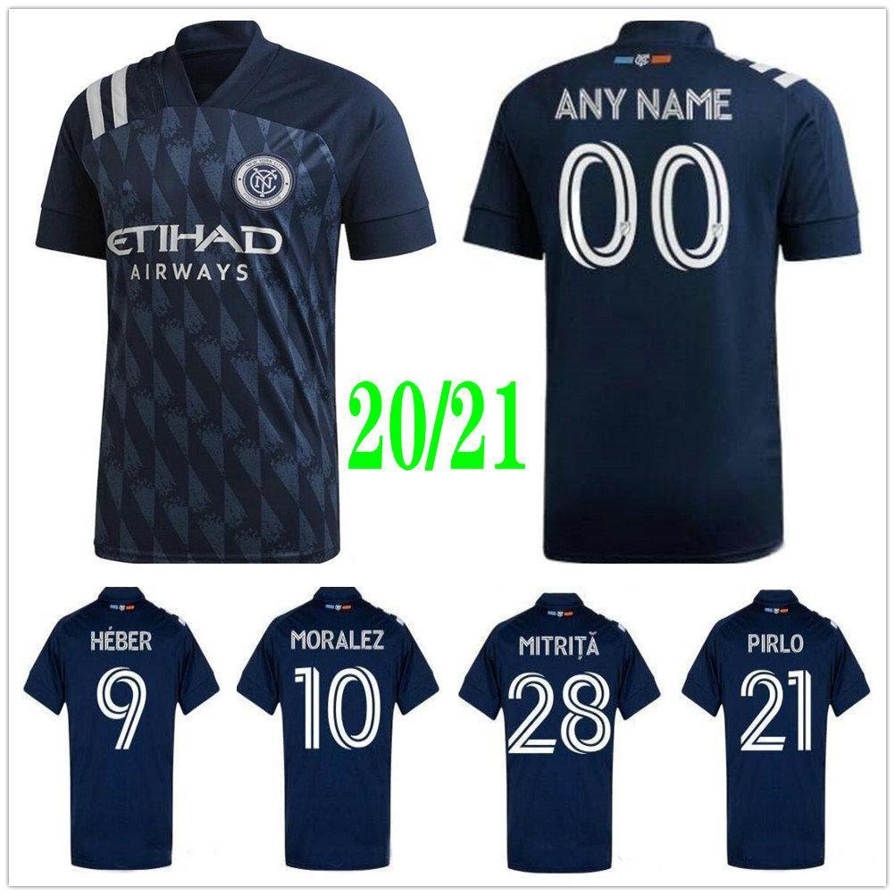 2020 2020 2021 MLS New York City FC Soccer Jerseys HEBER ...