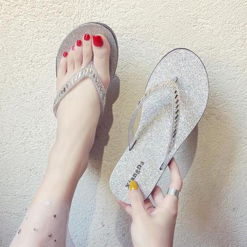 SUNNY Store Men Flip Flop Slide Sandals Comfort Anti-Slip Shower and Beach Household Slippers