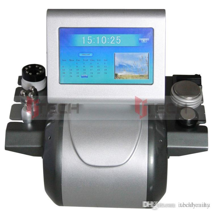 Ultrasonic Cavitation Fat Cellulite Removal Vacuum Therapy Multipolar RF Slimming System RU+5