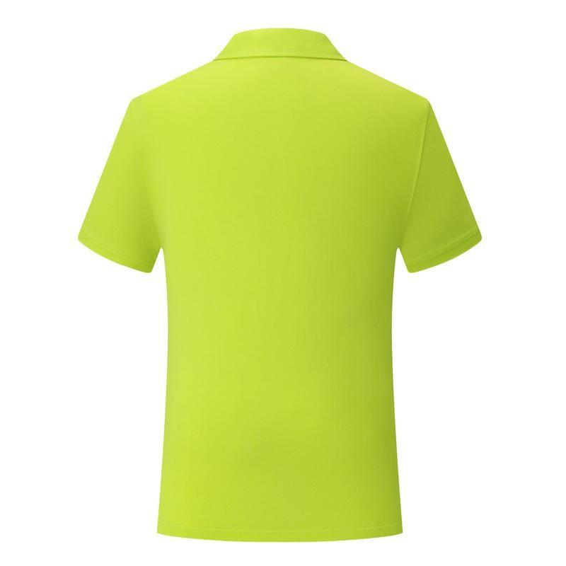 Frutta verde manica corta T-shirt SD-CF-22 nuovi uomini e le donne della camicia britannica del vento pianura cotone dello spandex del cotone di polo