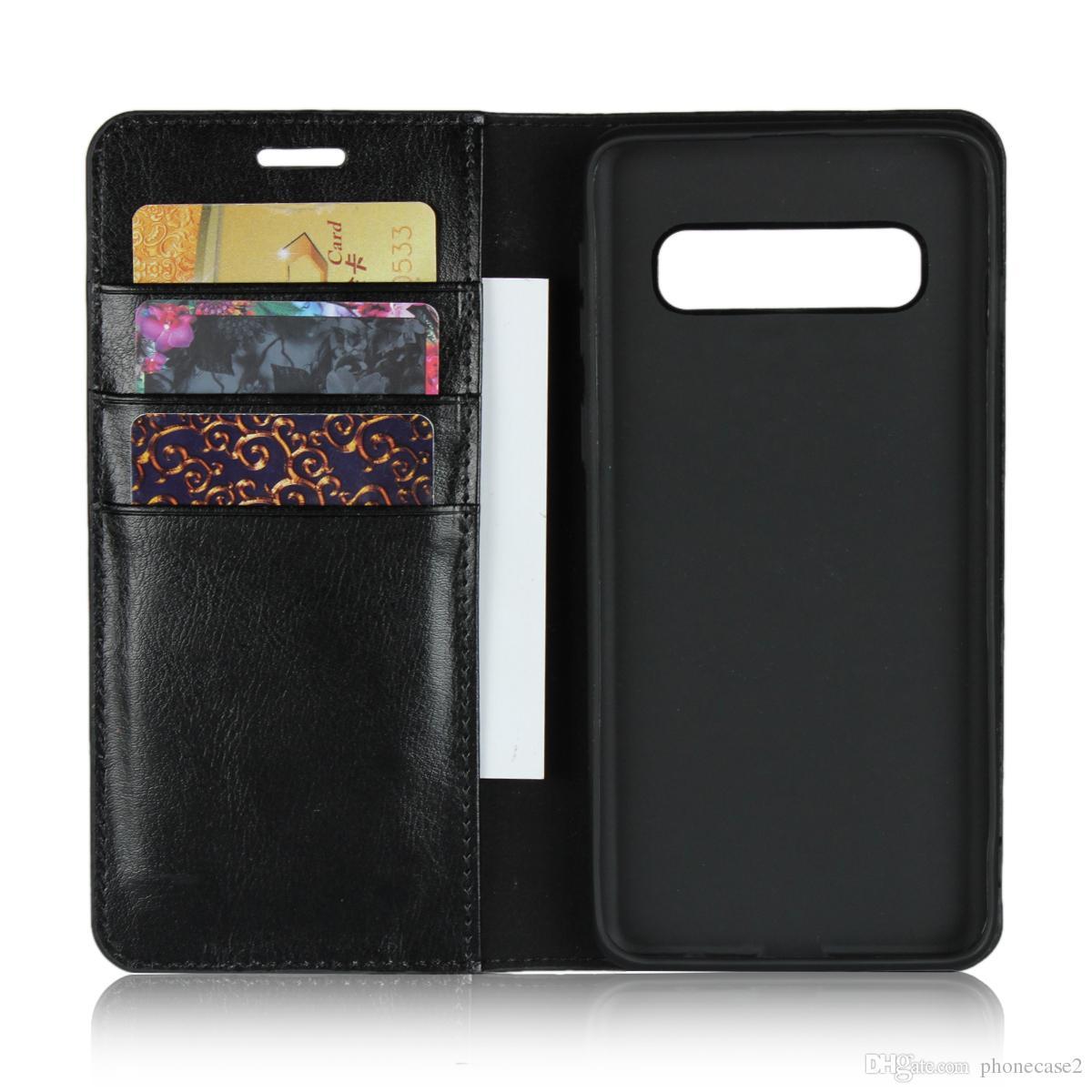 Custodie S5 Custodia A Portafoglio Porta Carte Di Credito In Pelle