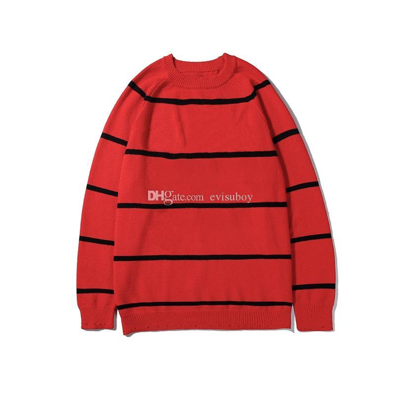 Nuovo Inverno Pullover uomini maglione cappotto di maglia girocollo Uomini Maglione Mans alta qualità Pillover maniche lunghe uomo Felpa